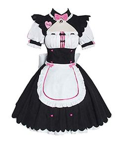 Yunbei Chocolat Cosplay Costume Cat Girl Maid Lolita Servant Dress Yunbei Cosplay Outfits, Edgy Outfits, Pretty Outfits, Cosplay Costumes, Cool Outfits, Fashion Outfits, Kawaii Fashion, Cute Fashion, Bobbies Shoes
