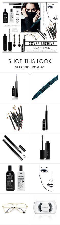 """Untitled #340"" by starlie16 on Polyvore featuring Givenchy, Gucci, Bobbi Brown Cosmetics, MAC Cosmetics, Marc Jacobs, H&M, Black Magic Lashes and Simone Rocha"