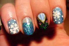 Disney's Frozen Nail Art