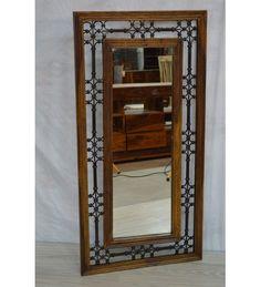 Indyjskie drewniane #lustro wyprodukowano w Indiach Model: GA-IND-49 tylko na 360 zł. Kupuj online @ http://goo.gl/AWB7Jn