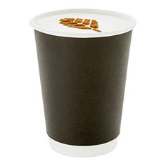 White 4oz Single Wall 118ml Paper Coffee Cups x 100 Disposable Hot Cup Takeaway