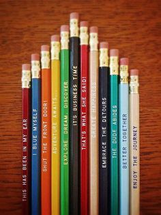 Pick a Pencil 12 Pack - $15.00 - Over 24 pencils to choose from! | Earmark Social
