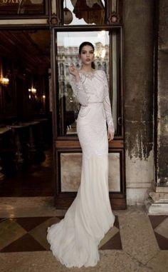 Inspiration robe de mariée Gatsby / mariage vintage