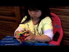 Tiene Tan Solo 2 Años Y Resuelve El Cubo Rubix Más Rápido Que Tú - #Video  http://www.vivavive.com/rubix-cube/