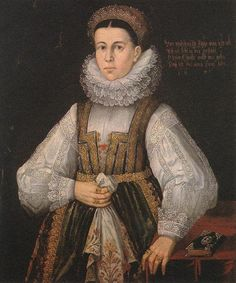 A Middle Class Woman of Lõcse, 1641 (Unknown Hungarian Master) Magyar Nemzeti Galéria, Budapest Hungarian Women, 16th Century Clothing, Web Gallery Of Art, Baroque Painting, European American, Baroque Fashion, Lace Collar, Historical Costume, Fashion History