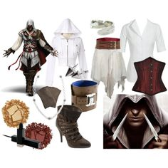 Assassin's Creed inspired outfit, also has Doctor Who outfits