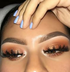 Gorgeous Makeup: Tips and Tricks With Eye Makeup and Eyeshadow – Makeup Design Ideas Glam Makeup, Baddie Makeup, Makeup On Fleek, Flawless Makeup, Cute Makeup, Gorgeous Makeup, Pretty Makeup, Skin Makeup, Makeup Inspo