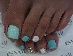 White with black and grey leopard print toenails nail ideas 20 easy simple toe nail art designs ideas trends 2014 for beginners prinsesfo Choice Image