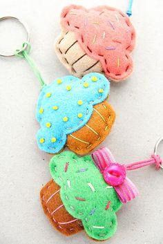 Ideias de costura - Porta-chaves #1