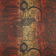 Printed Fabric: Architectural Design - John Piper for Sandersons