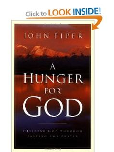 """There is an appetite for God. And it  can be awakened. I invite you to turn from the dulling effects of food and the dangers of idolatry, and to say with some simple fast: """"This much, O God, I want you."""""""