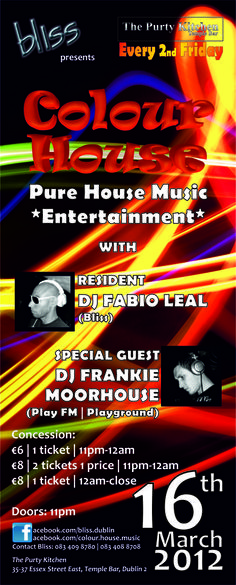 2012.03.16 Colour House FB Event House Music, Special Guest, Playground, Dj, Posters, Entertaining, Colour, Children Playground, Color