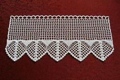 Curtains - Crochet Curtain - a unique product by Haekeldesign .- Gardinen – Häkelgardine – ein Designerstück von Haekeldesign-Gudrun bei DaWand… Curtains – Crochet Curtain – a unique product by Haekeldesign-Gudrun on DaWanda -