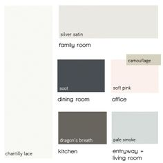 Benjamin Moore Silver Fox Would Be A Good Accent To