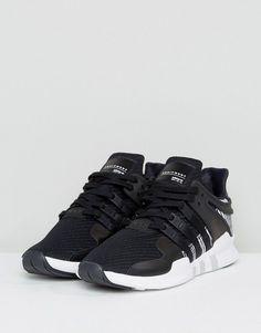 f4690a50c61 adidas Originals EQT Support ADV Sneakers In Black BY9585 - Black Adidas  Originals