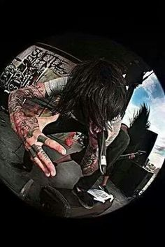 I love this picture ^~^ Mitch Lucker, Heavy Metal, Emo, Singer, Bands, Anime, Core, Music, Frases