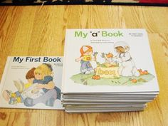"""""""My First Steps to Reading"""" A to Z books by Jane Belk Moncure"""