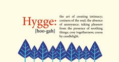 """""""Hooga? Hhyooghu? Heurgh? It is not important how you choose to pronounce or even spell #hygge. It's important that you feel it."""""""