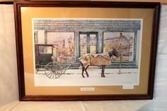 "David Armstrong Limited Edition Signed Framed Print ""The Apothecary Shop""  Lewisburg PA by AmericanVintageAve on Etsy"