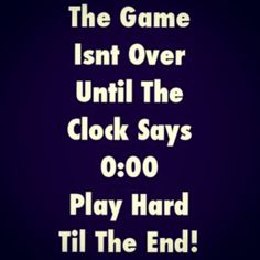 We have seriously got to remember this at every netball match we play!