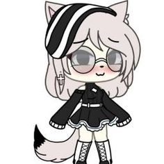 Maid and I Love (inkxerror) - Chapter A great battle - Wattpad Cute Anime Character, Cute Characters, Character Outfits, Anime Characters, Chibi Girl Drawings, Kawaii Drawings, Cute Drawings, Cute Anime Chibi, Anime Fnaf