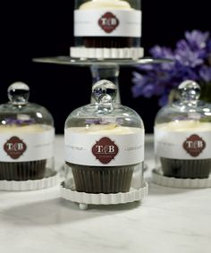 The Event at Things Festive  - Miniature Glass Bell Jar - Cupcake Cloche, $17.48 (http://event.thingsfestive.com/miniature-glass-bell-jar-cupcake-cloche/)