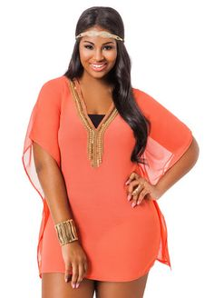 Jewel Tampa Neck Neck Jewel Up Cover Up