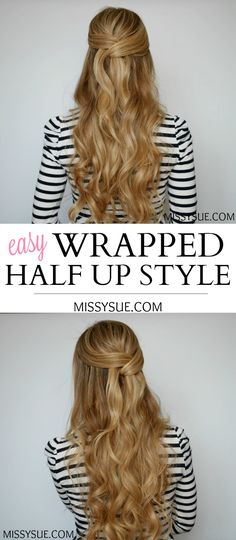 I've received so many requests lately for more half up styles. I love this one because it's soft and elegant while looking trickier to do than it actually is – the best combination. In this tutorial I am teaming up with HSI Professional to show…