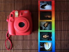 In love of my new camera, the Fujifilm Instax Mini 8 Raspberry