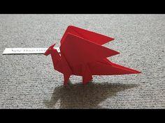 ORIGAMI - Hướng dẫn cách gấp con rồng đơn giản #2 - Origami Dragon - YouTube