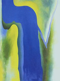 Georgia O'Keeffe. On The River 1964