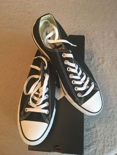 3cde9dd90673 CONVERSE CHUCK TAYLOR ALL STAR OX M9166 BLACK WHITE  fashion  clothing   shoes  accessories  unisexclothingshoesaccs  unisexadultshoes (ebay link)
