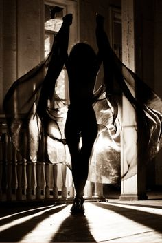 silhouette... I know someone who could pull this off perfectly ;) @Angel Kittiyachavalit Alford
