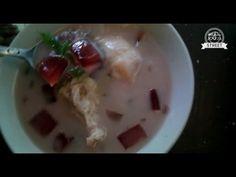 Yogyakarta Street Food, Durian Soup Ice Mix Indonesia - YouTube