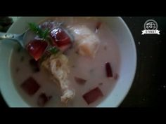 Yogyakarta Street Food, Durian Soup Ice Mix Indonesia - YouTube