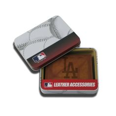 MLB Los Angeles Dodgers Embossed Trifold Wallet by Rico. $19.99. A team logo trifold wallet makes a perfect gift for that big fan in your life, or a nice treat for yourself. Quality construction will last.