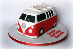 VW Campervan Cake by donna_makes_cakes, via Flickr