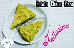 Potato Chiken Pizza (mpasi 1+)