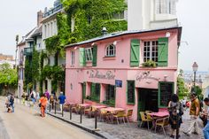 La Maison Rose - Paris, France | 13 Cafés With A Window Seat Waiting Just For You