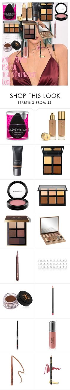 Kylie Jenner Makeup Transformation Look by oroartye-1 on Polyvore featuring beauty, Urban Decay, Bobbi Brown Cosmetics, Anastasia Beverly Hills, Cover FX, Yves Saint Laurent, Chanel, MAC Cosmetics, Charlotte Tilbury and INIKA