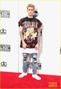 justin bieber american music awards 2015 11
