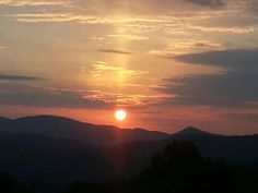 Sunset Blueridge 2