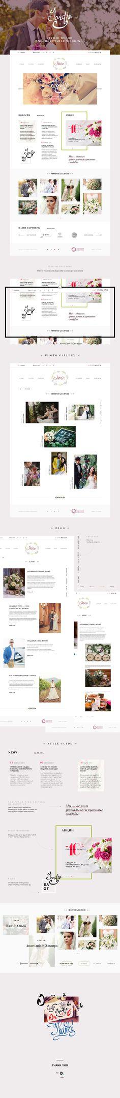 Wedding Agency on Behance