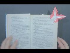 Origami Bookmark for a book butterfly by Grzegorz Bubniak - Yakomoga Ori...