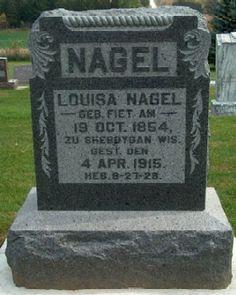 NAGEL, LOUISA - Allamakee County, Iowa | LOUISA NAGEL