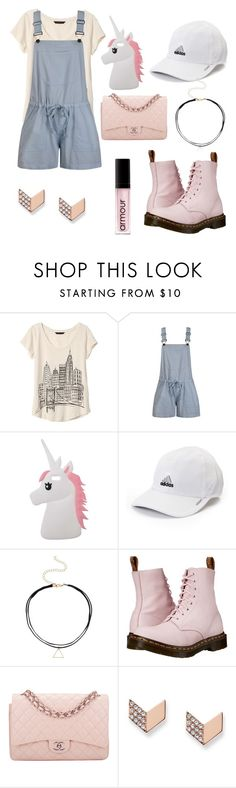 """""""Untitled #67"""" by littlelizzie999 ❤ liked on Polyvore featuring Banana Republic, Ally Fashion, Miss Selfridge, adidas, Dr. Martens, Chanel, FOSSIL and Armour"""