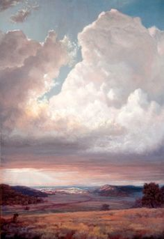 Phil Bob Borman 'Rays Of Hope' Museum of Western Art, Kerrville, TX (Resurrection Clouds)