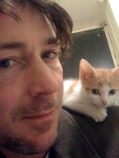 "Aidan Gillen (Petyr ""Littlefinger"" Baelish) from Game of Thrones and his ""Lion"""