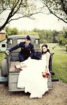 Pretty much how I picture my own wedding pictures haha