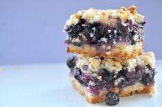 Blueberry Crumb Bars.